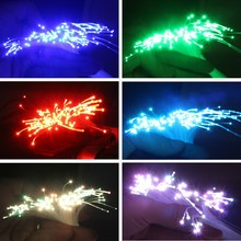 30M 2.5mm(D) PMMA plastic fiber optic cable LED light engine driver device star ceiling hanging lamp Bar DIY Sky decor-End glow