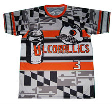 Customize team high quality sublimation baseball t shirt wholesale cheap price