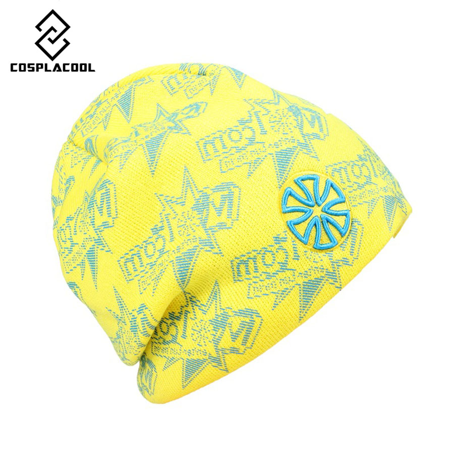 [COSPLACOOL]  Fashion SNSUSK hats Stars Printing knitting hat Men and women ski cap knitted cap Autumn and winter hatÎäåæäà è àêñåññóàðû<br><br><br>Aliexpress