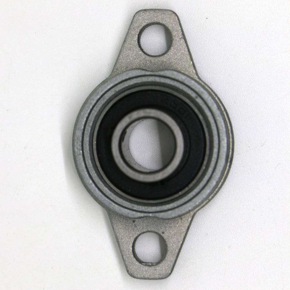 5pcs KFL001 12mm Zinc Alloy Mounted Shaft Support Flange Pillow Block Bearing<br><br>Aliexpress