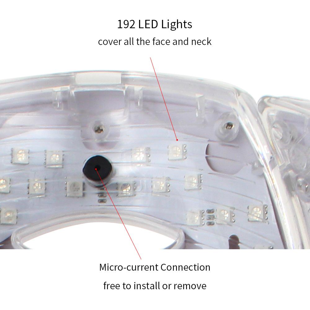 Masque luminothérapie éfficace | OkO-OkO