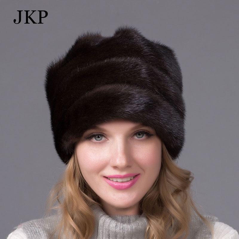 Real mink fur hat for women winter full fur hat with flower top 2015 new arrival good quality multicolor female luxury mink capОдежда и ак�е��уары<br><br><br>Aliexpress