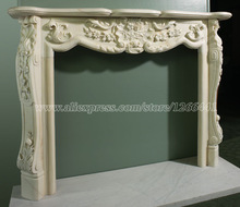 stone fireplace mantel European French style living room fireplace customizing