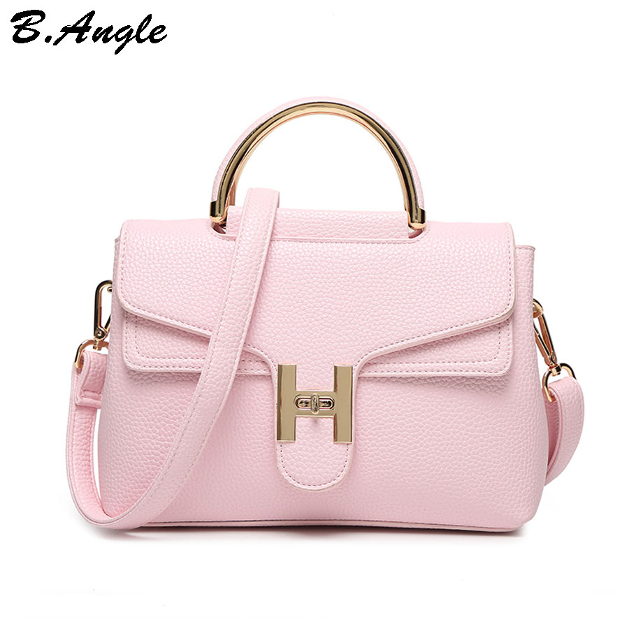 High quality H brand messenger bags shoulder bag women leather handbags crossbody bag school bag satchels<br>