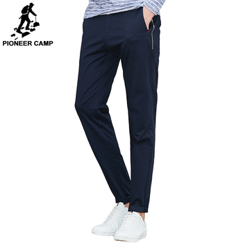 Pioneer Camp New arrival Spring casual pants men brand-clothing fashion straight men pants top quality male trousers AXX703026