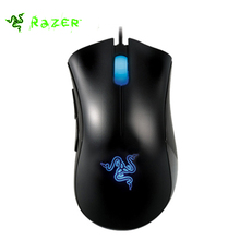 Razer Deathadder Mouse 3500DPI Gaming Wired Mouse for Laptop pc usb Ergonomic Computer Mice Mouse Desktop +Razer Goliathus(China)