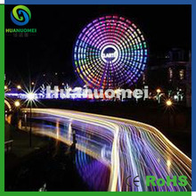 Shenzhen factory price 45mm rgb led pixel module 5050 ferris wheel amusement led light(China)