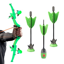Zing Air Storm Z Tek Bow Orange & Green,Children Kids Outdoor Sport Toys Bow & Arrow With Refills Whistle 3 Arrows