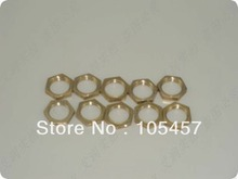 "10PCS 1"",3/4"",1/2"",3/8"",1/4"",1/8"" BSP Female Brass Pipe Fitting Hex Lock Nut Brand"