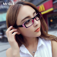 new fashion Radiation Protection super light women men sunglasses brand designer Vintage Rectangle Clear Lens sunglasses C29