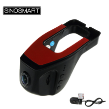 SINOSMART In Stock Universal Wifi DVR for Volkswagen/Honda/Mazda/Mitsubishi/Opel/Hyundai/Kia App Control Dual Lenses Optional(China)