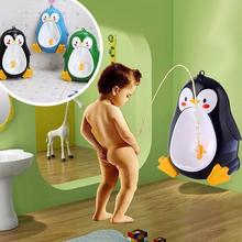 Baby Boys Penguin Toilet Potty Training Kids Toddler Urinal Bathroom Pee Trainer(China)