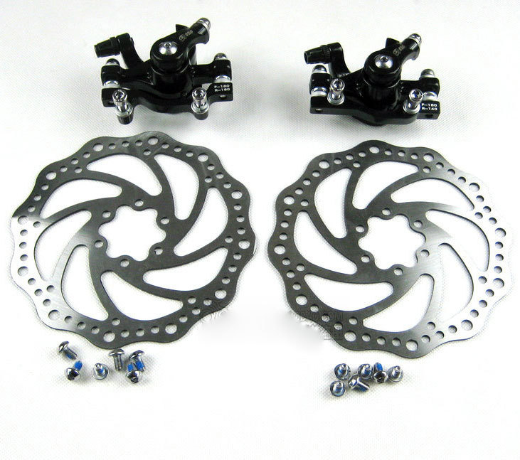 Bicycle Brake disc mountain bike disc brake Front rear Disc Brake Calipers Hot selling<br><br>Aliexpress