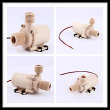 Water Circulation Pump Brushless Motor 6.5L/Min 10L/Min DC 12V 24V Solar Hot