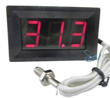 Thermocouple Red Digital LED 0-999C Temperature Thermometer Panel Meter Display(China)