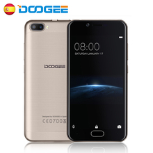 DOOGEE Shoot 2 5.0 inch Android 7.0 MTK6580 Quad Core 1G+8G/2G+16G Smartphone 5.0MP Dual Rear Cameras 3G Fingerprint Sensor