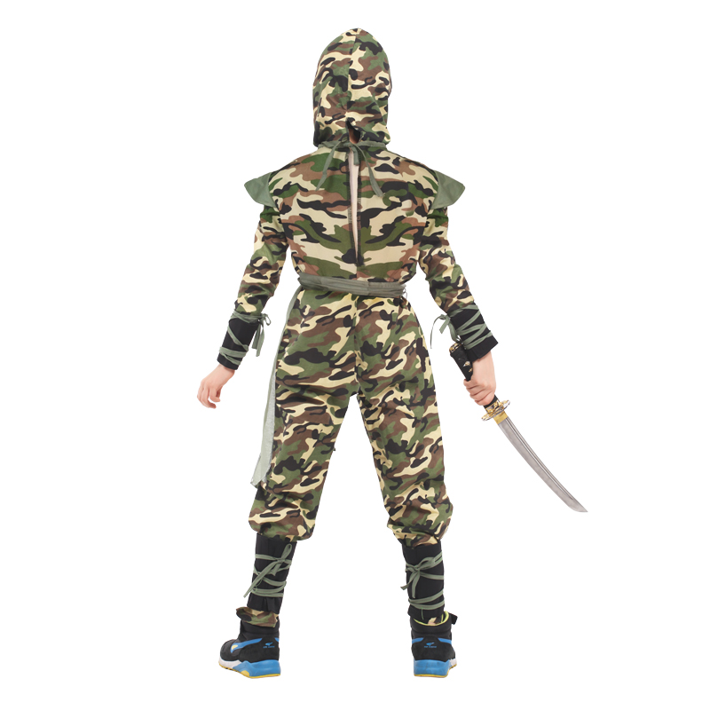 Army Camo Fancy Dress Children/'s Soldier Outfit XMAS Deal Kids DELUXE B