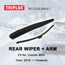 "Rear Wiper Arm with Blade for Lincoln MKX (2016-Onwards) 1pc 11"" 280mm,Rear Wiper Arm & Rear Wiper Blades"