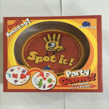 Foreign trade hot card spot it game found it in English version, find your sister match symbol party game board