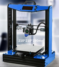 2016 Hot Selling Optional Color Prusa I4 3D Printer Kit with 2Rolls Filament +SD Card+Nozzls Reprap Prusa I4