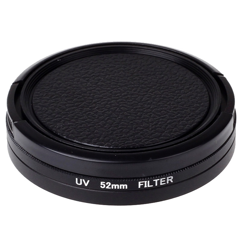 52mm UV Filter Lens Protector Camera UV Filter For  Xiaomi yi xiaoyi Action Sport Camera Accessories