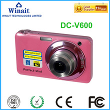 2017 Newest And Popular Digital Camera 5X optical Zoom 4x digital zoom Mini Camera Max 15mp Compact Camera with 2.7 inch Display