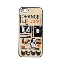 Orange Is the New Black Case for iPhone 4 4S 5 5S 5C 6 Plus Touch 5 for Samsung A3 A5 A7 E5 E7 S3 S4 S5 Mini S6 Edge Note 2 3 4