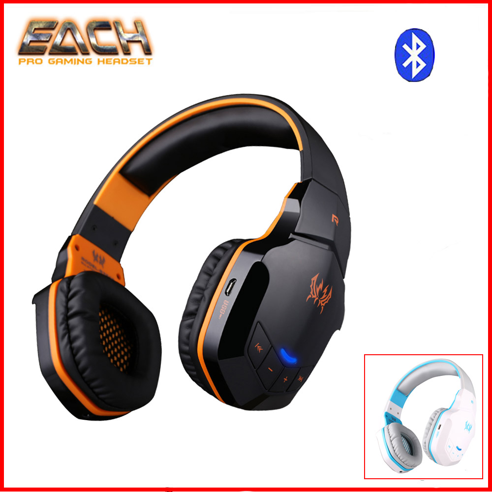EACH B3505 Wireless Headphones Bluetooth Stereo Gaming Headphones Headset With Volume Control Microphone HiFi Music Headsets<br>
