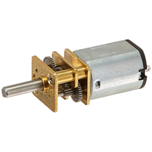 JA12-N20 Model DC 12V 100RPM Torque Gearbox Micro Gear Box Motor Silver+Gold(China)