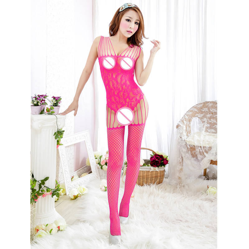 NEW Hot bodystocking Sexy lingerie Women's new brand Sexy body suit, sexy costumes 24
