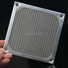 2 Pieces lot 120 mm PC Fan Aluminum Dustproof Filter Stainless Mesh