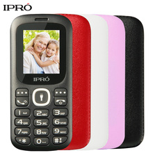 IPRO I3185 1.77 Inch Unlocked Mobile Phone 32MB+32MB SC6531DA GSM Dual SIM Cell Phone for Seniors Elderly No Russian Language