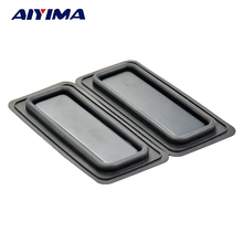 Aiyima 2pcs 45*100MM Bass diaphragm Bass Enhanced Radiator Speaker Diaphragm Vibration Board(China)
