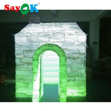 new outdoor advertising equipment inflatable photo booth  backdrop for sale