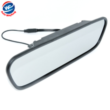 "High resolution 4.3"" Color TFT LCD Car Rearview Mirror Monitor 4.3 inch 16:9 screen DC 12V car Monitor for DVD Camera DVR"