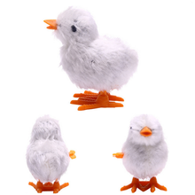 Hot 1Pcs 4 Colors Children Kids Educational Cute Chick Toys Clockwork Jumping Chicken Wind Up Toy Party Games Baby Gifts 2016