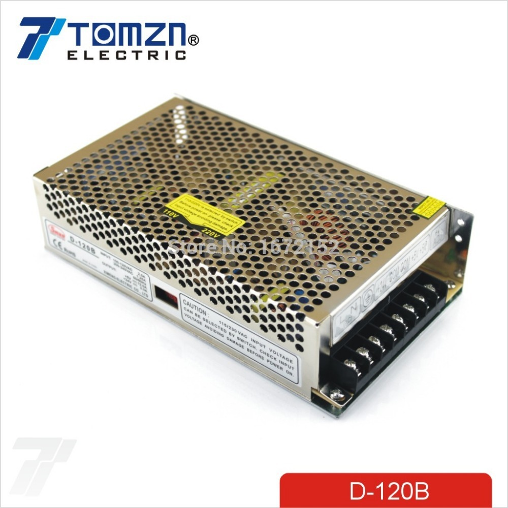 120W Dual output 5V 24V Switching power supply AC to DC DC6A DC4A<br>