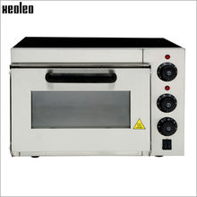Xeoleo Electric Pizza oven Max 350 degree Pizza Baker oven Mini Bread oven Single layer Electric toaster oven make cake 220V/2KW(China)