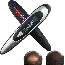 Kit Power Grow Laser Cure Loss Therapy Hair Comb massager Comb Laser LASER POWER HAIR GROW Free shipping(China)