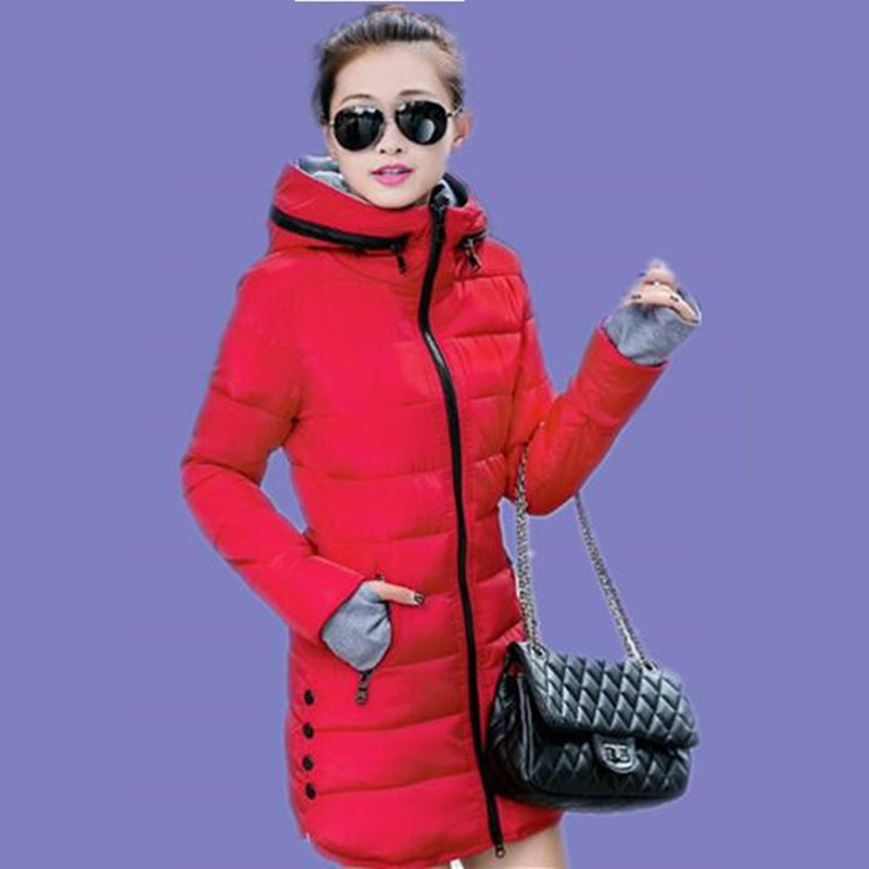 2017 New Design skinnwille Winter Coat Women Jacket Cotton Padded Coat Parkas Winter Manteau Femme Casual JX010Одежда и ак�е��уары<br><br><br>Aliexpress