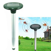 solar electronic mosquito repeller pest mice rat mouse mole Solar Powered Ultrasonic Rodent Mouse Rat Pest Repeller garden