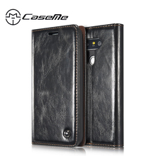 For LG G6 Case LG G5 Cover CaseMe Flip Stand LG G4 Coque Carcasa Wallet Leather Fundas Magnetic Capa Accessories(China)