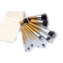 Ava recommend colorful best cheap professional 11 pcs makeup brushes 11pcs manufacturer