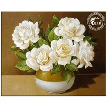 Diamond Embroidery Flowers 5D Full Square White Rose Picture Hobbies And Crafts Diy Diamond Painting Rhinestones Cross Stitch