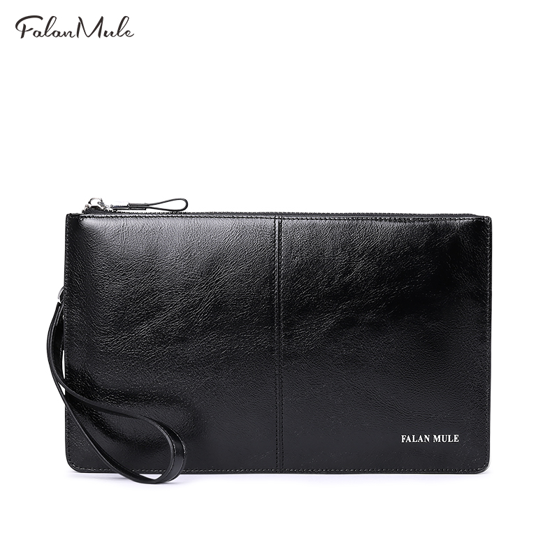 New Arrival Male Clutch Genuine Leather Wallet Men Clutch Bag Clutch Male Wallet Luxury Leather Men Wallet Men Handy Bag<br>