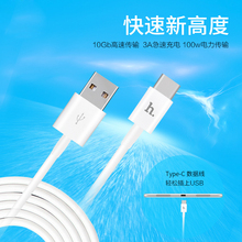 ORIGINAL HOCO UPT02 Metal Knitted Type-C USB Charging Cable for Samsung Xiaomi LG  1.2 m free shipping