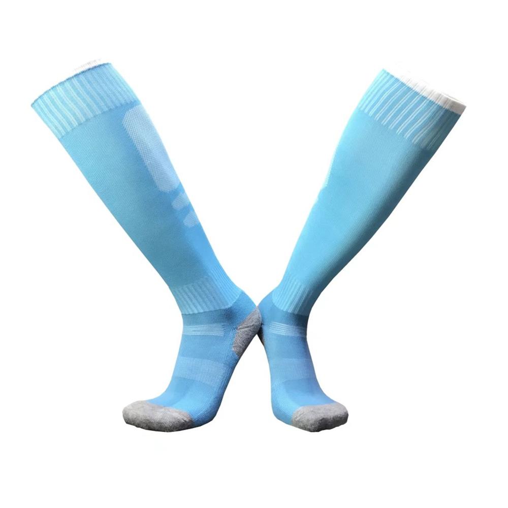17 sport socks football soccer socks Cycling running men kids boys long towel socks basketball sox medias de futbol non-slip 19