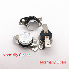 Buy 10pcs/lot KSD301/KSD302 10A250V 100 Degrees Normally Closed Normally Open Temperature Switch Thermostat for $2.15 in AliExpress store