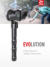 Official Zhiyun [Z1-Evolution] 3-Axis Brushless 330 motors degree moving gimbal for action camera/ GoPro