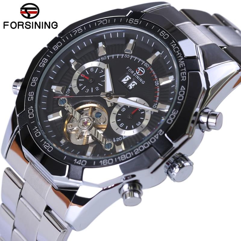 2017 New Series Forsining Tourbillon Design Clock Men Automatic Watch Skeleton Military Watch Mechanical Relogio Male Erkek Saat<br>